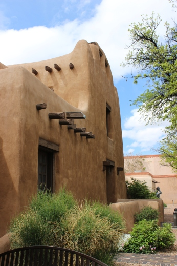 Beautiful adobe building