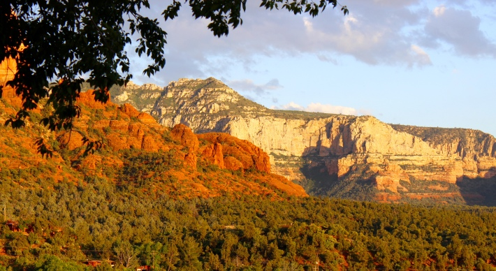Sedona's amazing sunset
