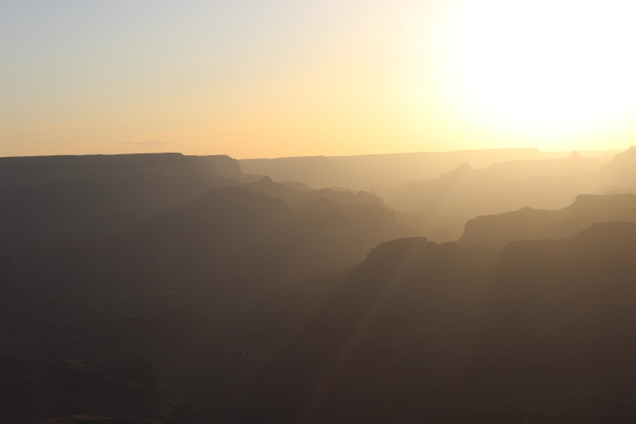The sunsets at the Grand Canyon are simply unforgettable