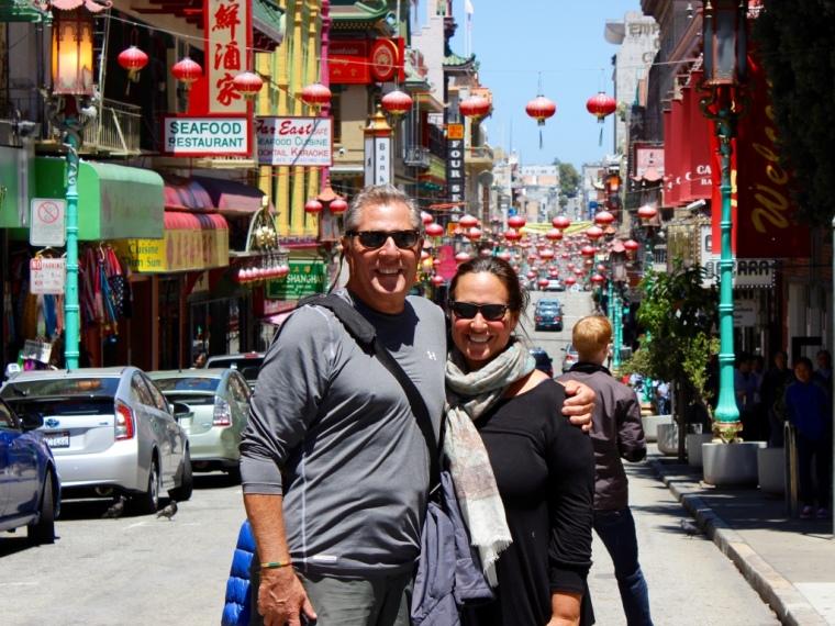 San Francisco, CA. Chinatown.