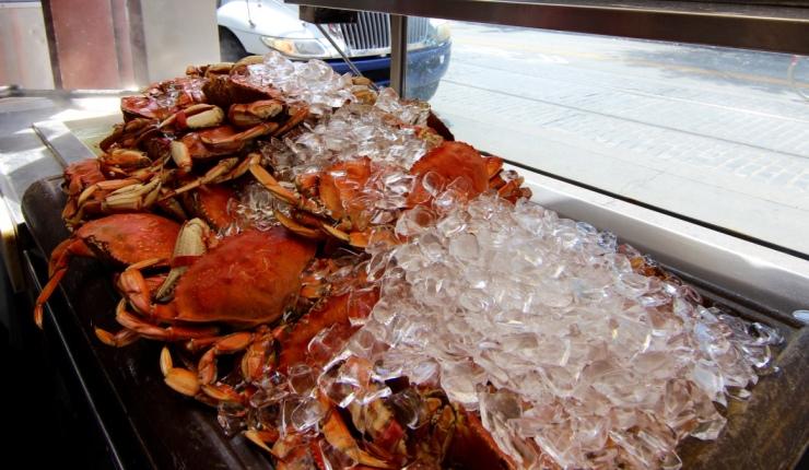 San Francisco, CA. Delicious Dungenes Crab, $14.95/pound.