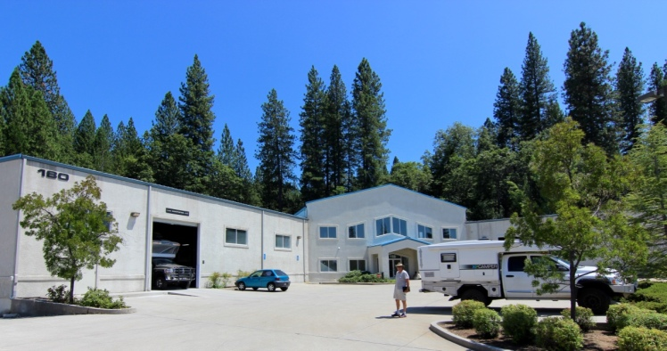 The XPCamper Factory in Grass Valley, CA