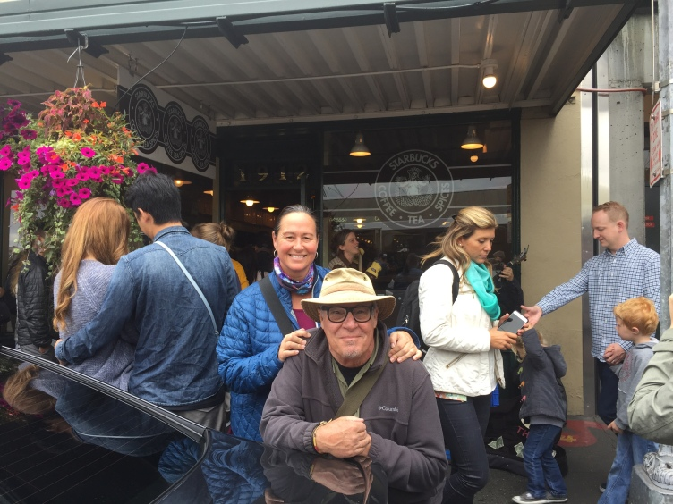 The first ever Starbucks opened in Seattle in March 30, 1971. The rest is history.
