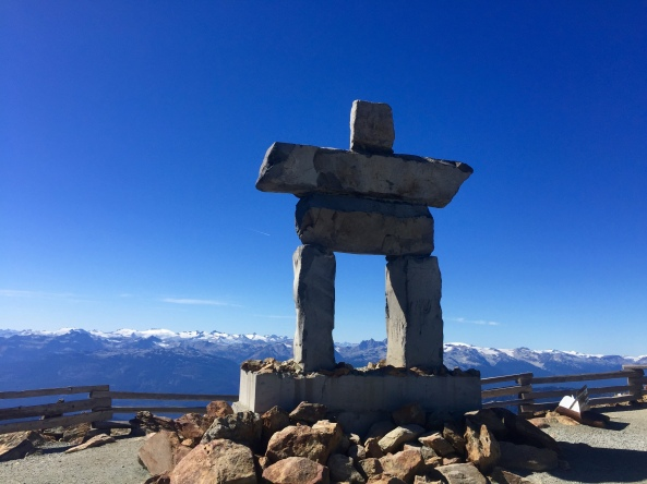 Inukshuks are everywhere in BC.