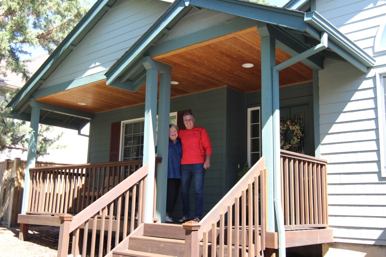 Bend, OR. Thank you Jill for your hospitality. You and Neil are wonderful hosts.
