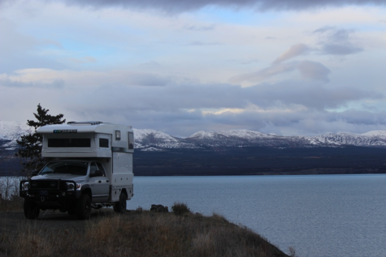 Free camping on Kluane Lake. It doesn't get any better!